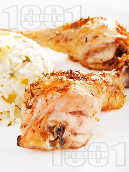 Тиквички с ориз - снимка на рецептата